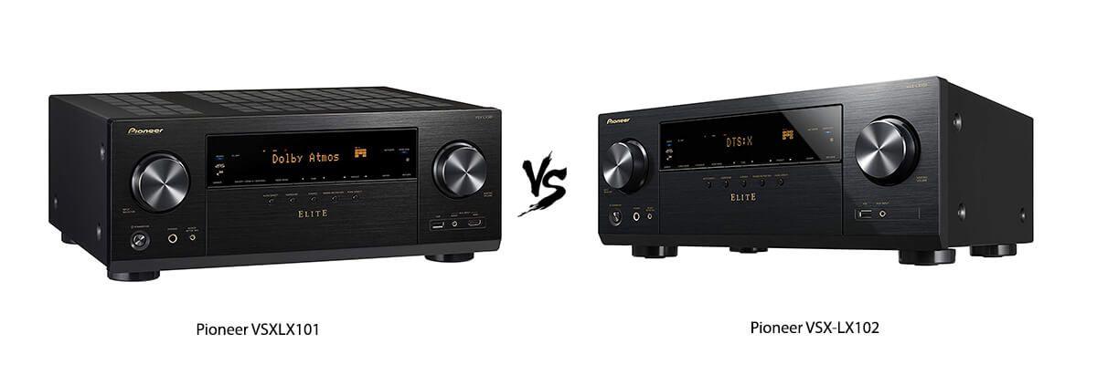 Pioneer VSXLX101 vs Pioneer VSX-LX102