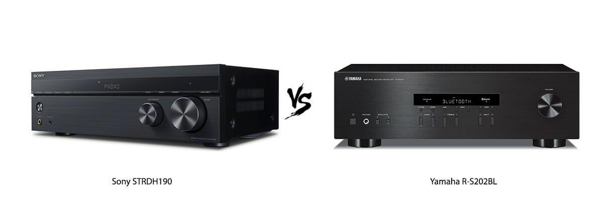 Sony STRDH190 vs Yamaha R-S202BL