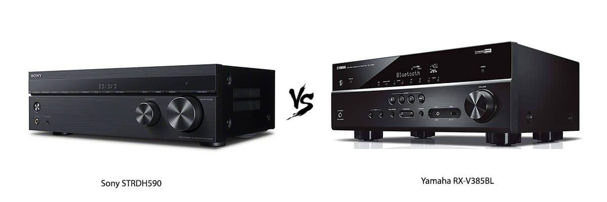 Sony STRDH590 vs Yamaha RX-V385BL