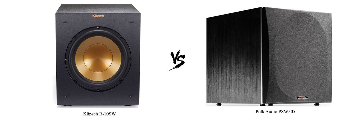 Klipsch R-10SW vs Polk Audio PSW505