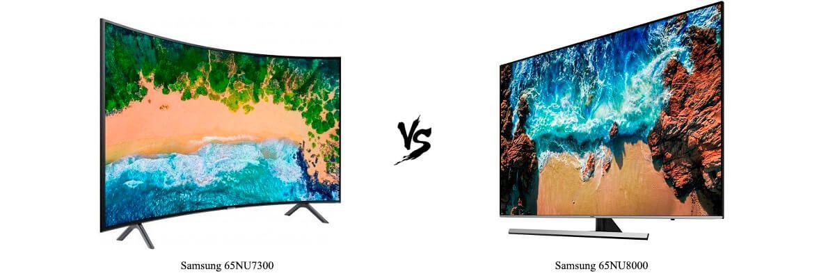 Samsung 65NU7300 vs 65NU8000
