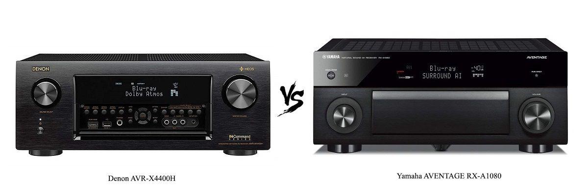 Denon AVR-X4400H vs Yamaha AVENTAGE RX-A1080