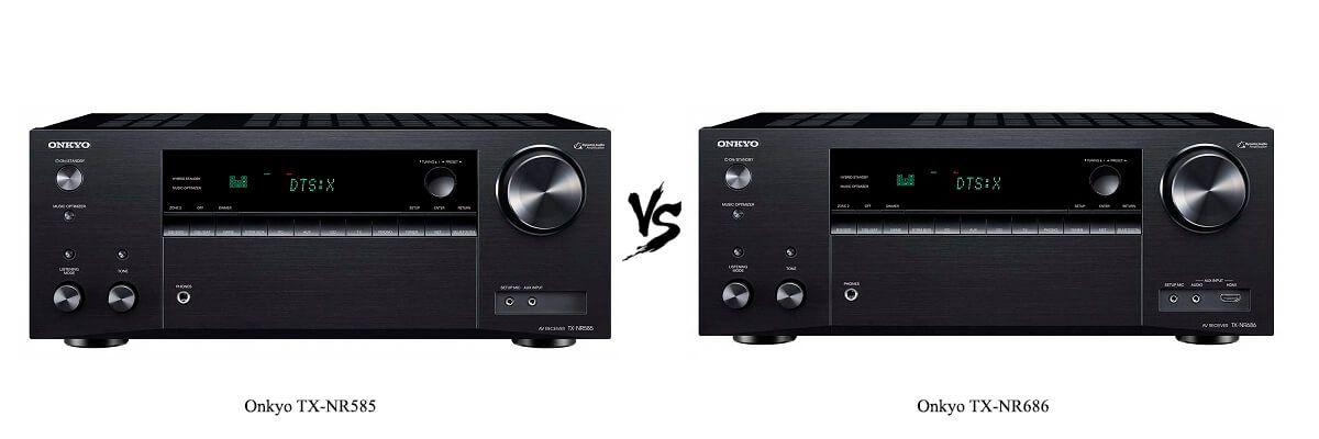 Onkyo TX-NR585 vs TX-NR686