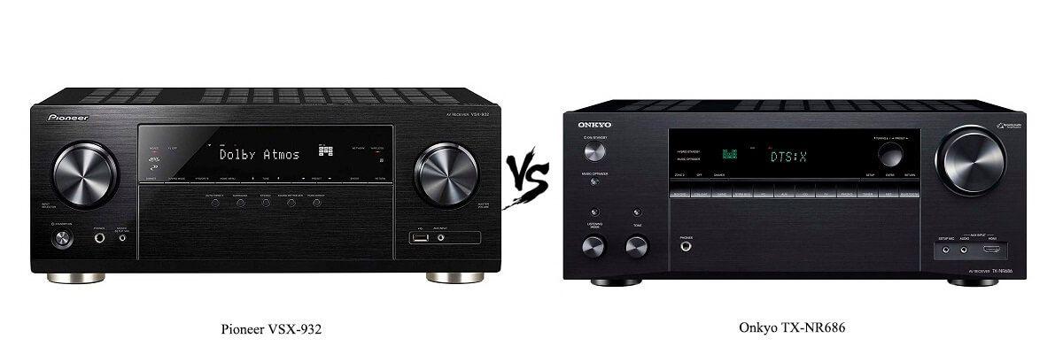 Pioneer VSX-932 vs Onkyo TX-NR686