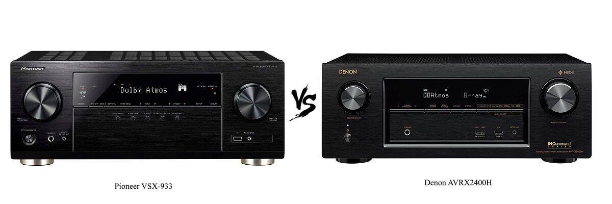 Pioneer VSX-933 vs Denon AVRX2400H
