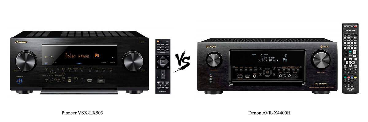 Pioneer VSX-LX503 vs Denon AVR-X4400H