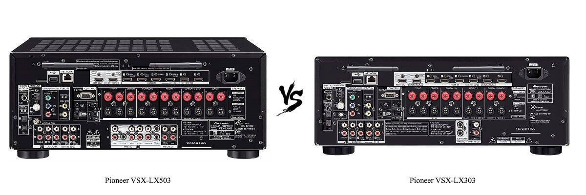 Pioneer VSX-LX503 vs Pioneer VSX-LX303