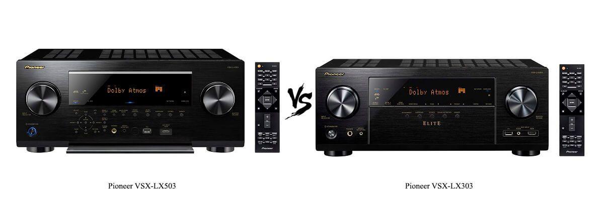 Pioneer VSX-LX503 vs VSX-LX303