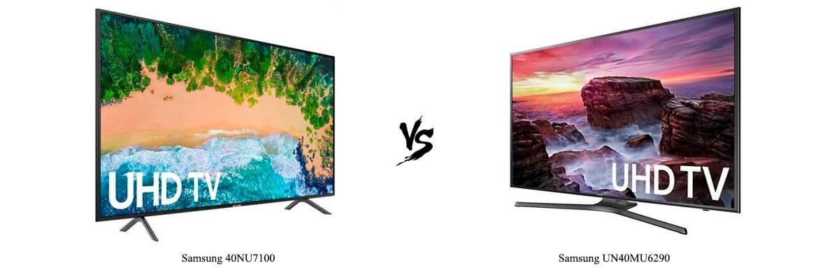 Samsung 40NU7100 vs Samsung UN40MU6290