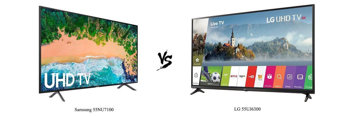 Samsung 55NU7100 vs LG 55UJ6300