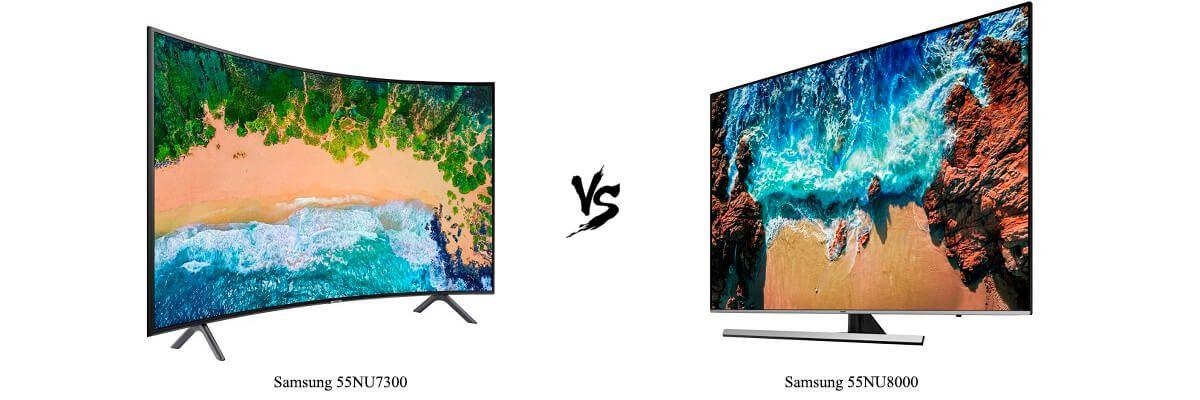 Samsung 55NU7300 vs Samsung 55NU8000