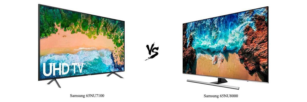 Samsung 65NU7100 vs Samsung 65NU8000