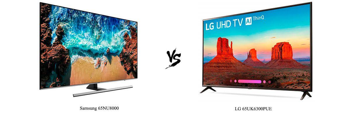 Samsung 65NU8000 vs LG 65UK6300PUE