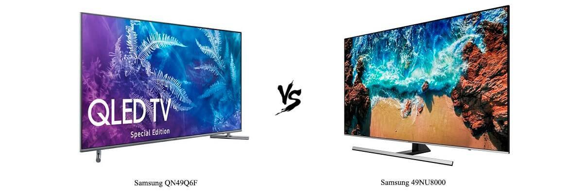 Samsung QN49Q6F vs Samsung 49NU8000