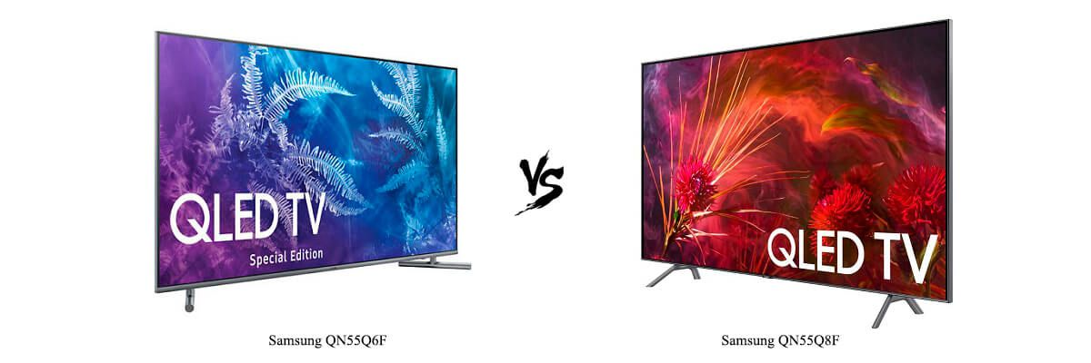 Samsung QN55Q6F vs Samsung QN55Q8F