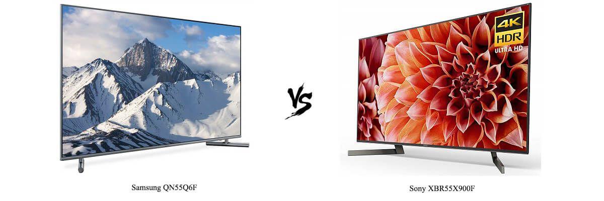 Samsung QN55Q6F vs Sony XBR55X900F