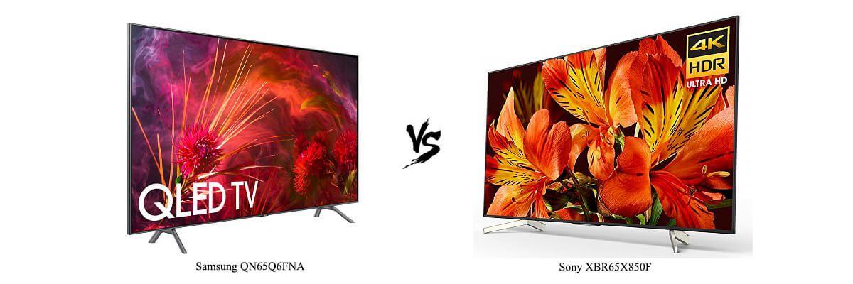 Samsung QN65Q6FNA vs Sony XBR65X850F