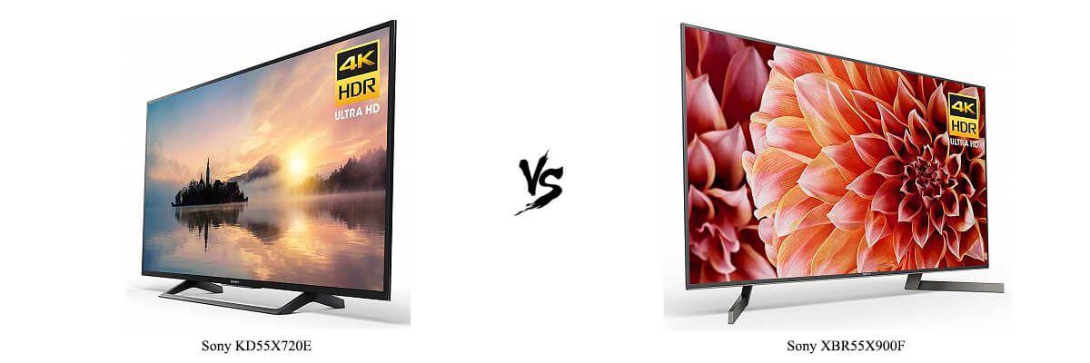 Sony KD55X720E vs XBR55X900F
