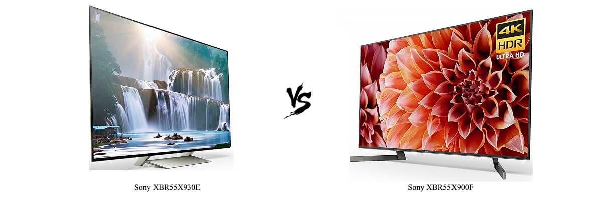 Sony XBR55X930E vs XBR55X900F