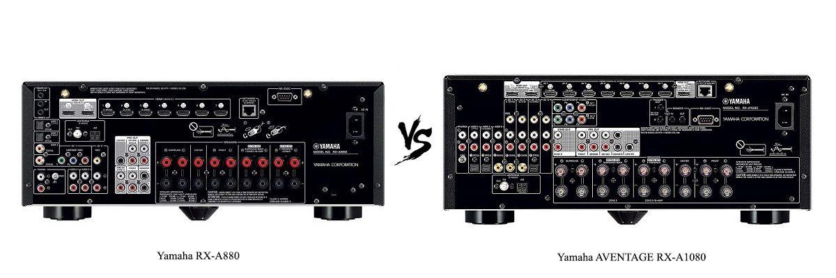 Yamaha AVENTAGE RX-A1080 vs RX-A880