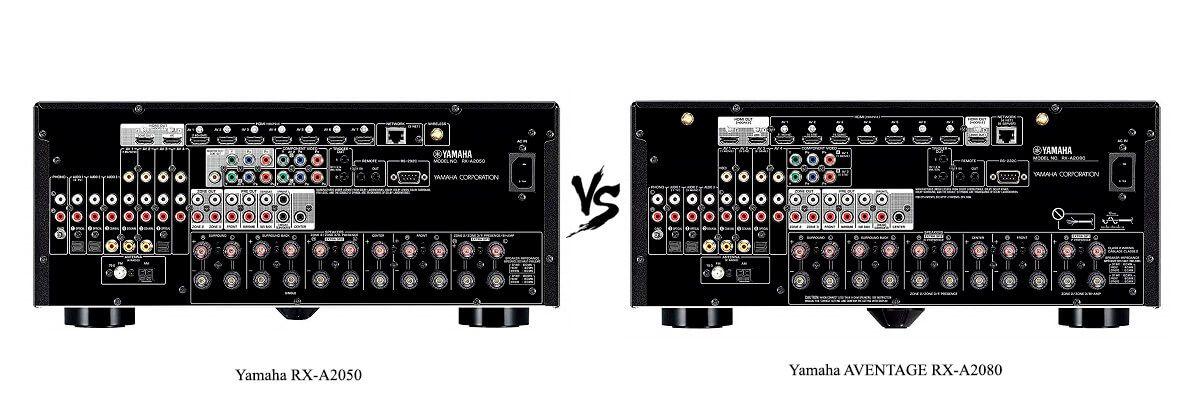 Yamaha AVENTAGE RX-A2080 vs RX-A2050