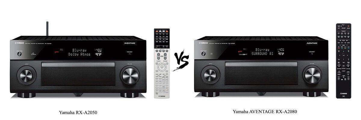 Yamaha RX-A2050 vs AVENTAGE RX-A2080