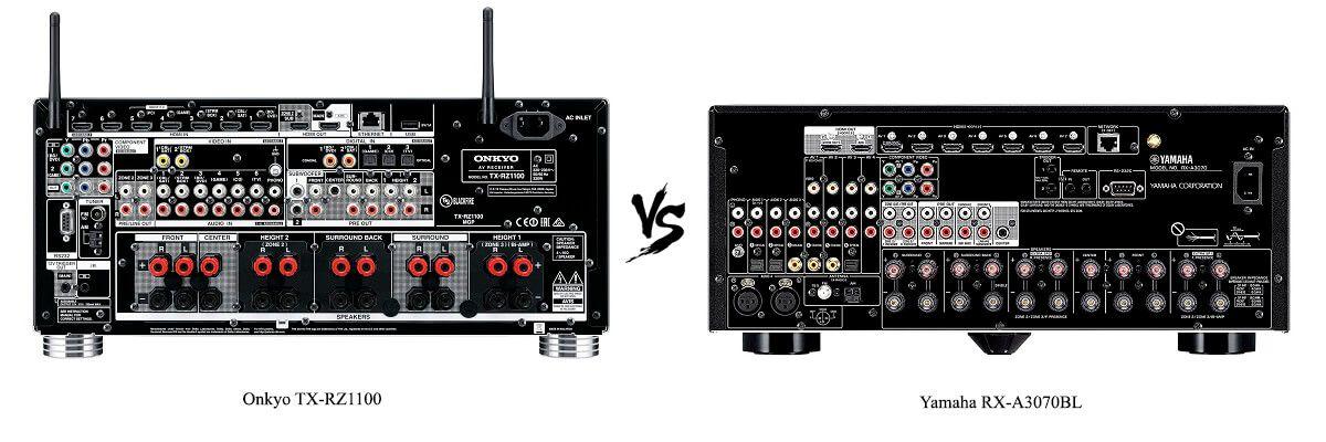 Yamaha RX-A3070BL vs Onkyo TX-RZ1100