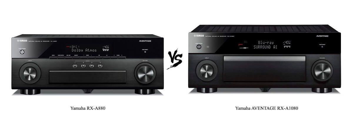 Yamaha RX-A880 vs AVENTAGE RX-A1080