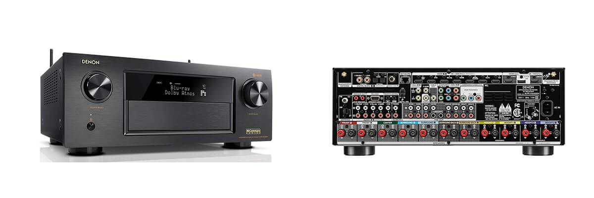 Denon AVR-X4400H Review - Compare Features and Specs