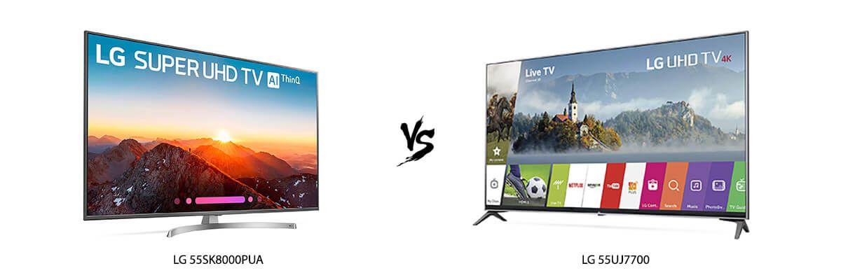 LG 55SK8000PUA vs LG 55UJ7700