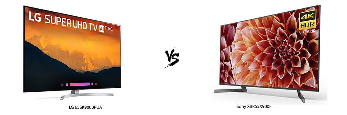 LG 65SK9000PUA vs Sony XBR55X900F