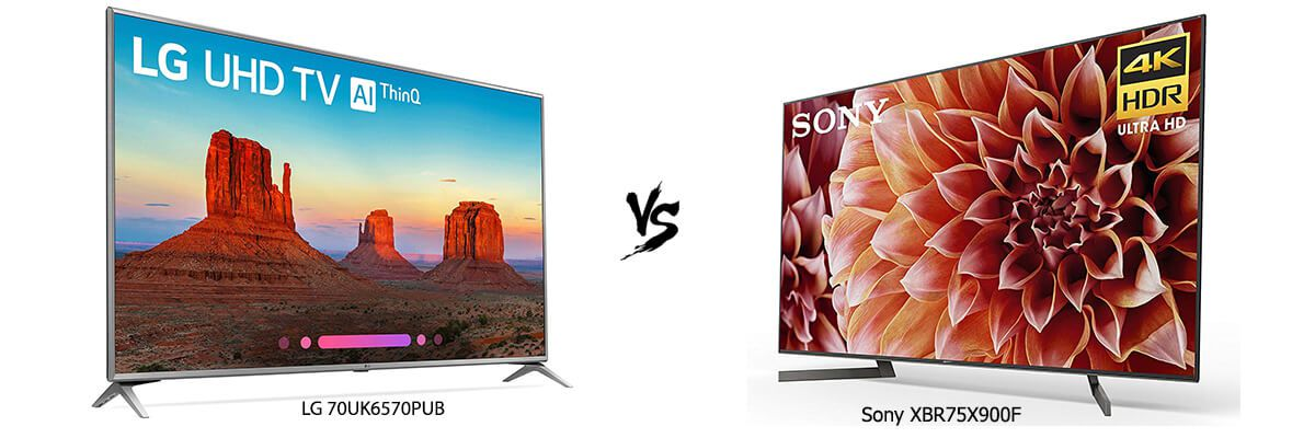 LG 70UK6570PUB vs Sony XBR75X900F