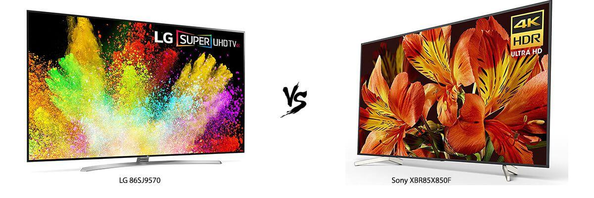 LG 86SJ9570 vs Sony XBR85X850F
