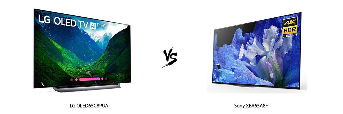 LG OLED65C8PUA vs Sony XBR65A8F