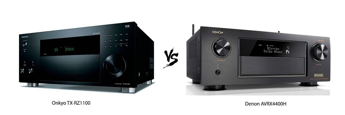 Onkyo TX-RZ1100 vs Denon AVRX4400H