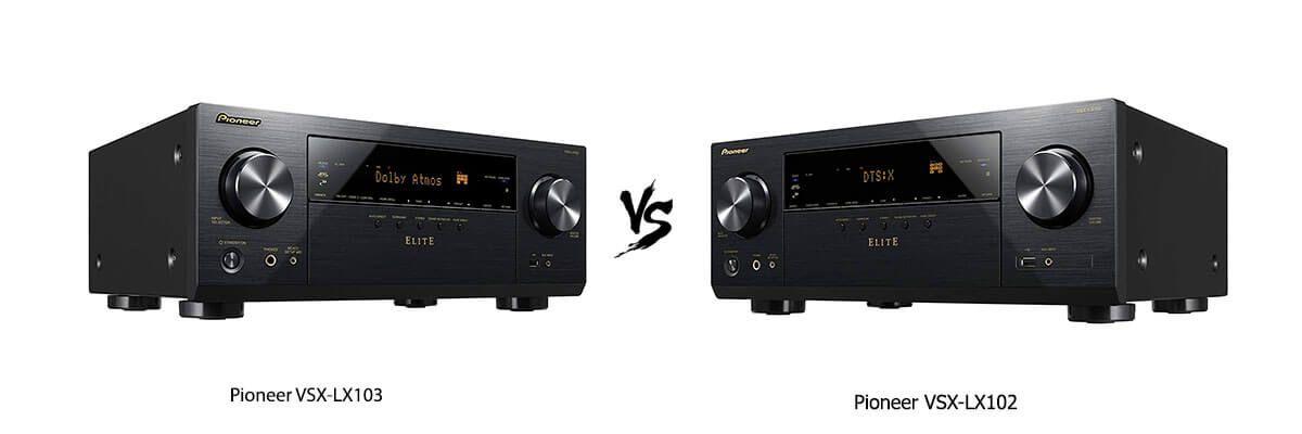 Pioneer VSX-LX103 vs Pioneer VSX-LX102