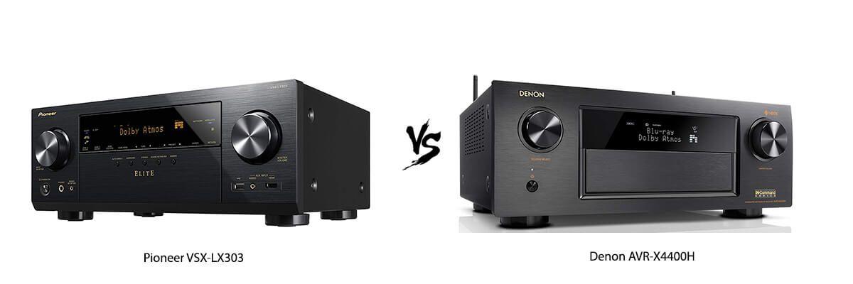Pioneer VSX-LX303 vs Denon AVRX4400H