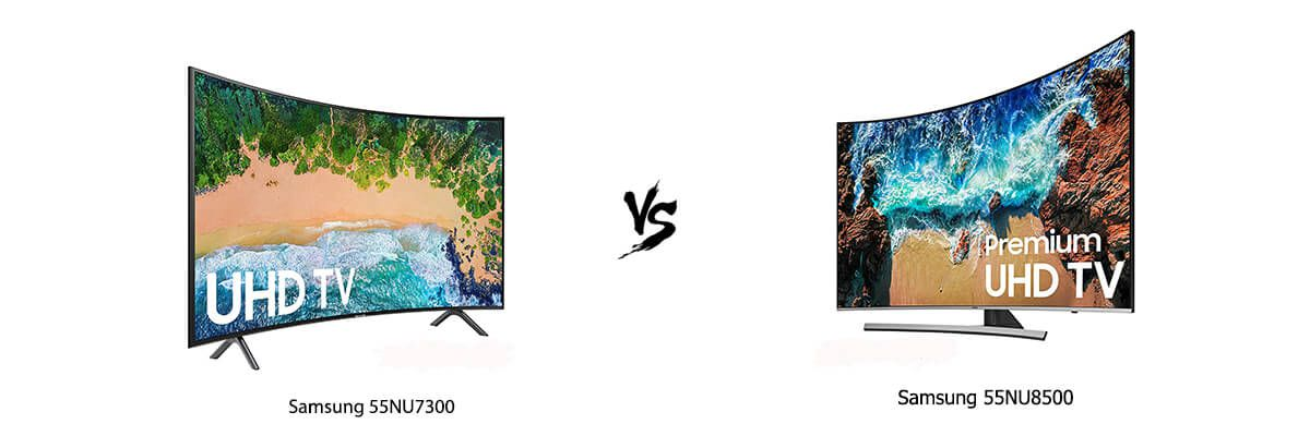 Samsung 55NU7300 vs Samsung 55NU8500