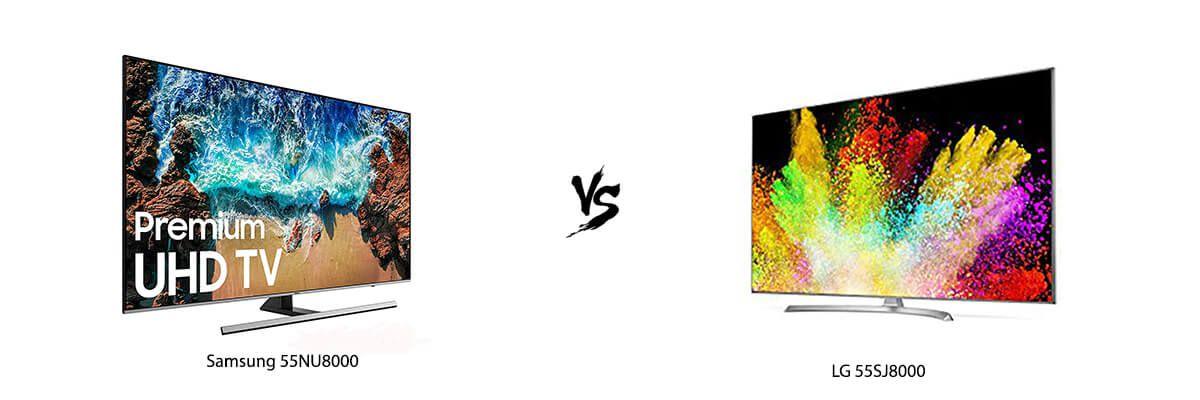 Samsung 55NU8000 vs LG 55SJ8000
