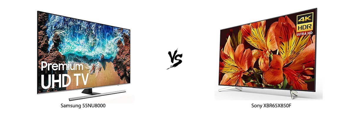 Samsung 55NU8000 vs Sony XBR65X850F