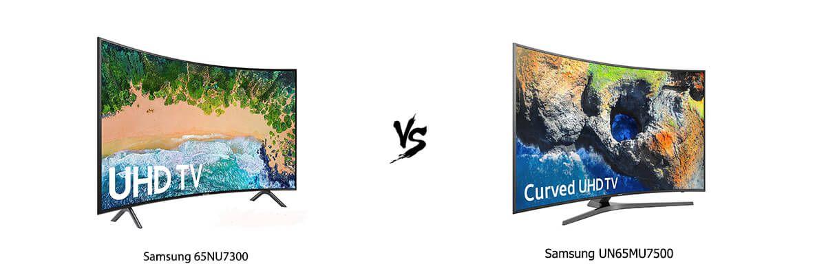 Samsung 65NU7300 vs Samsung UN65MU7500