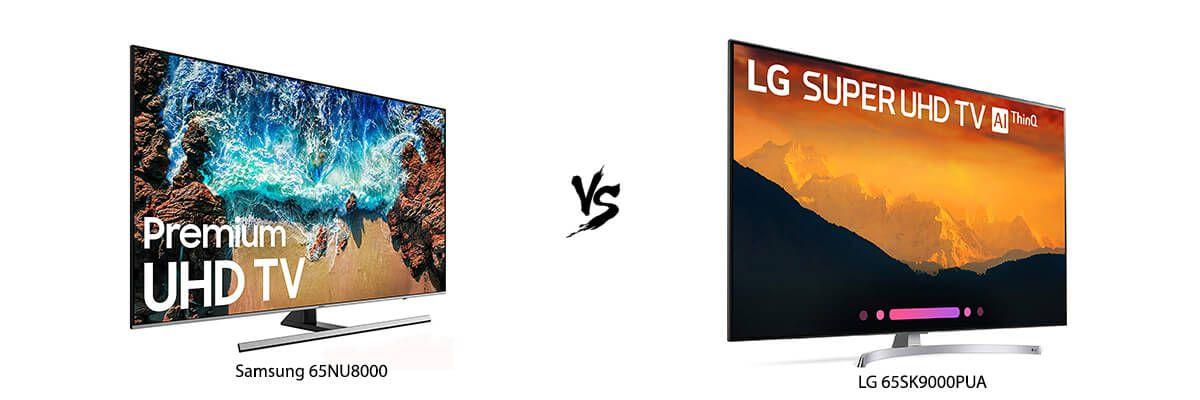 Samsung 65NU8000 vs LG 65SK9000PUA