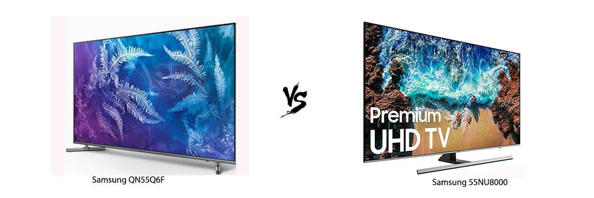Samsung QN55Q6F vs Samsung 55NU8000