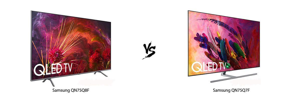 Samsung QN75Q8F vs Samsung QN75Q7F