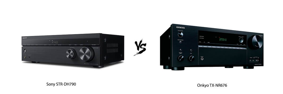 Sony STR-DH790 vs Onkyo TX-NR676