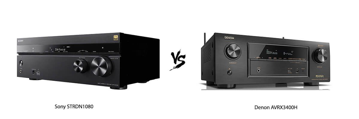 Sony STRDN1080 vs Denon AVRX3400H
