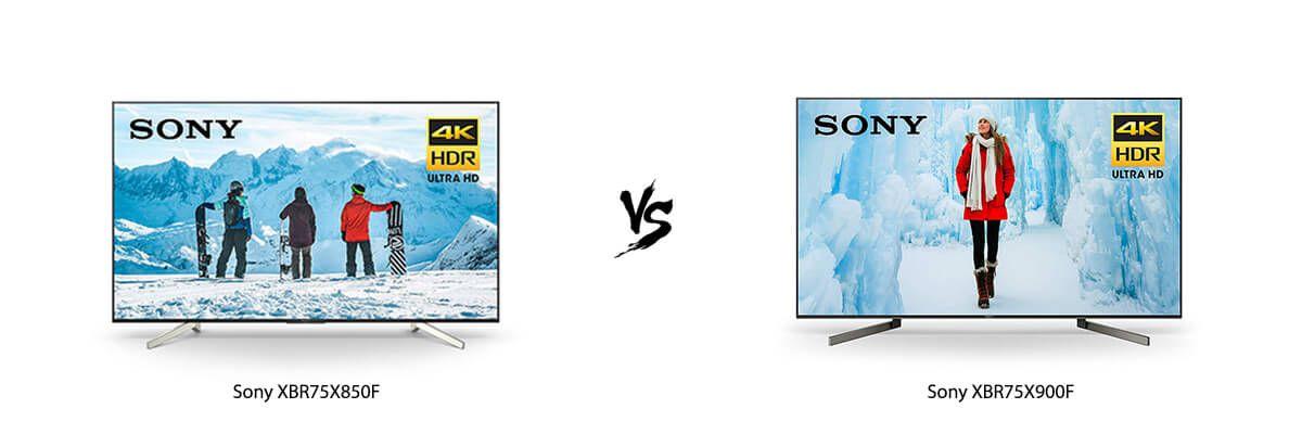 Sony XBR75X850F vs Sony XBR75X900F