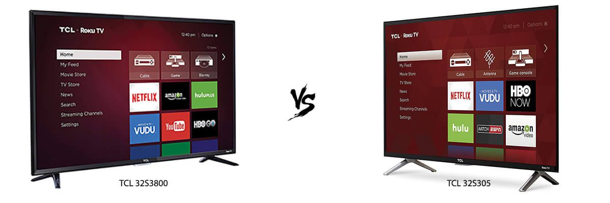 TCL 32S3800 vs TCL 32S305