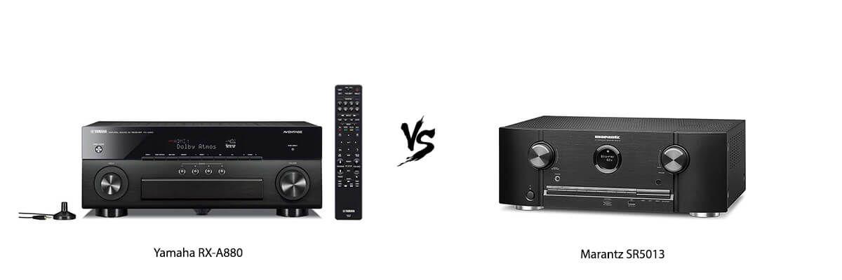 Yamaha RX-A880 vs Marantz SR5013
