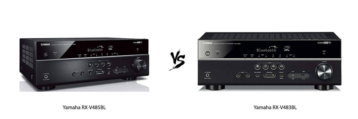 Yamaha RX-V485BL vs Yamaha RX-V483BL